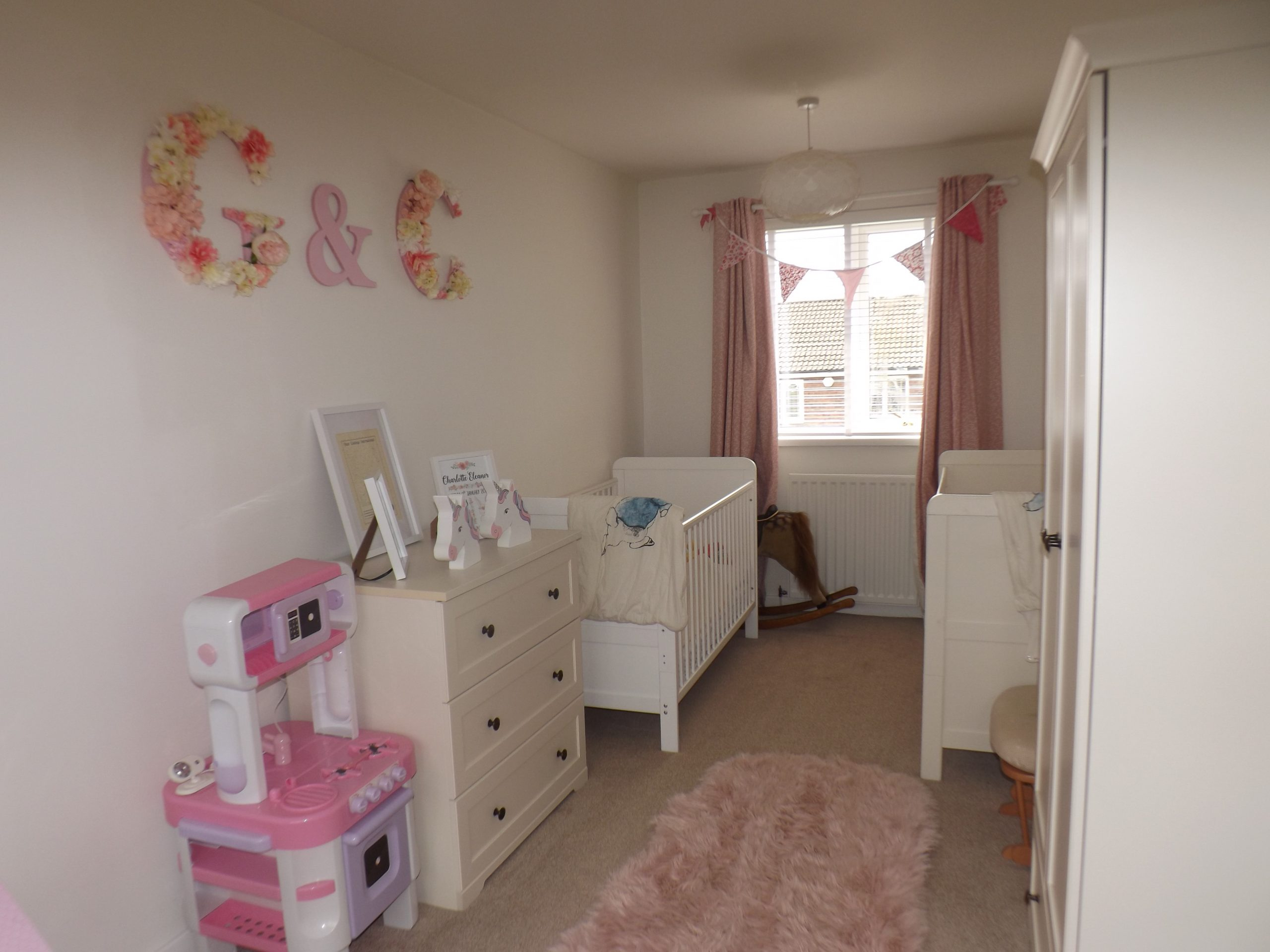 Durham property | baby room at Friarside, Witton Gilbert