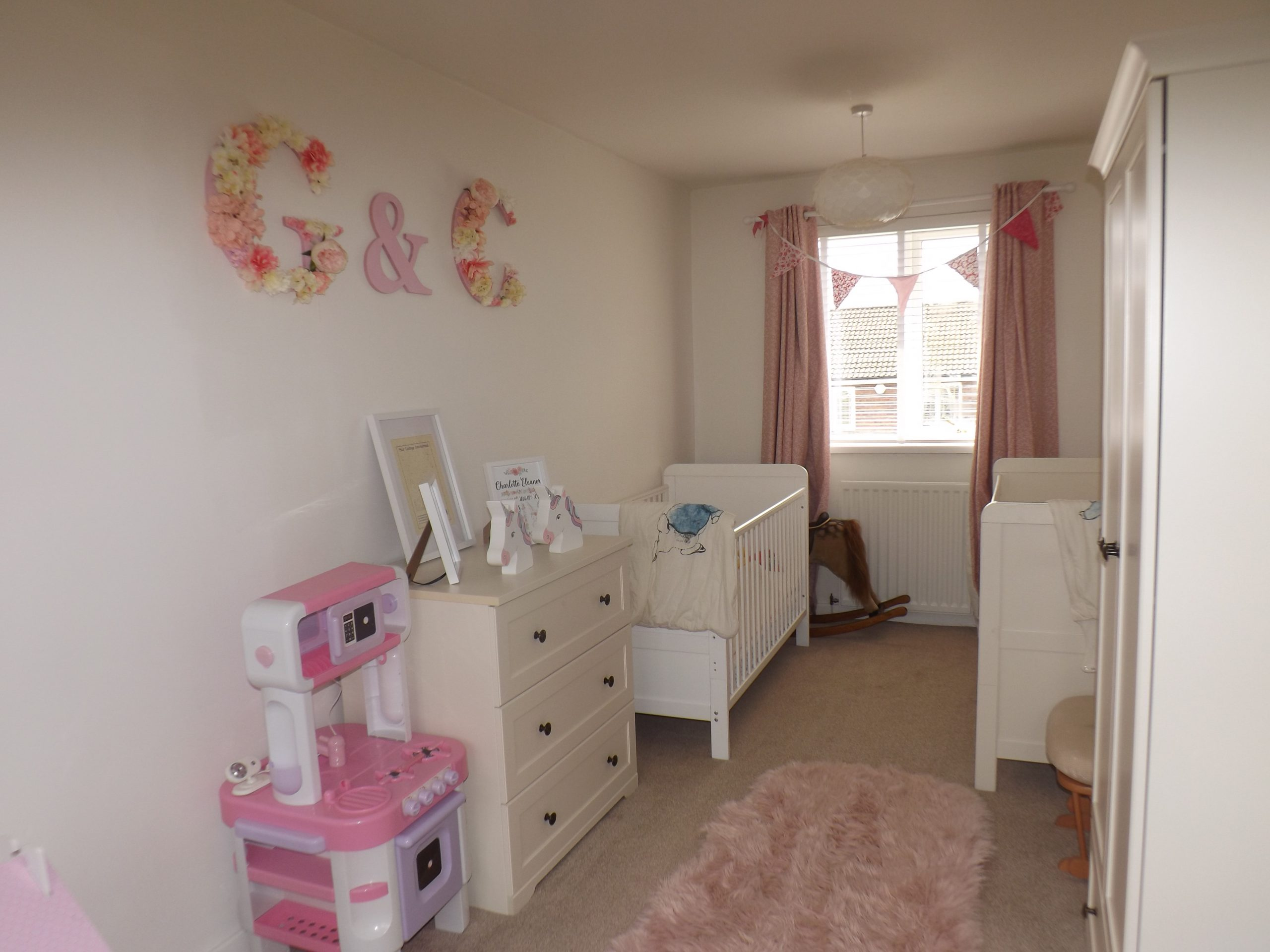 Durham house | baby room at Friarside, Witton Gilbert