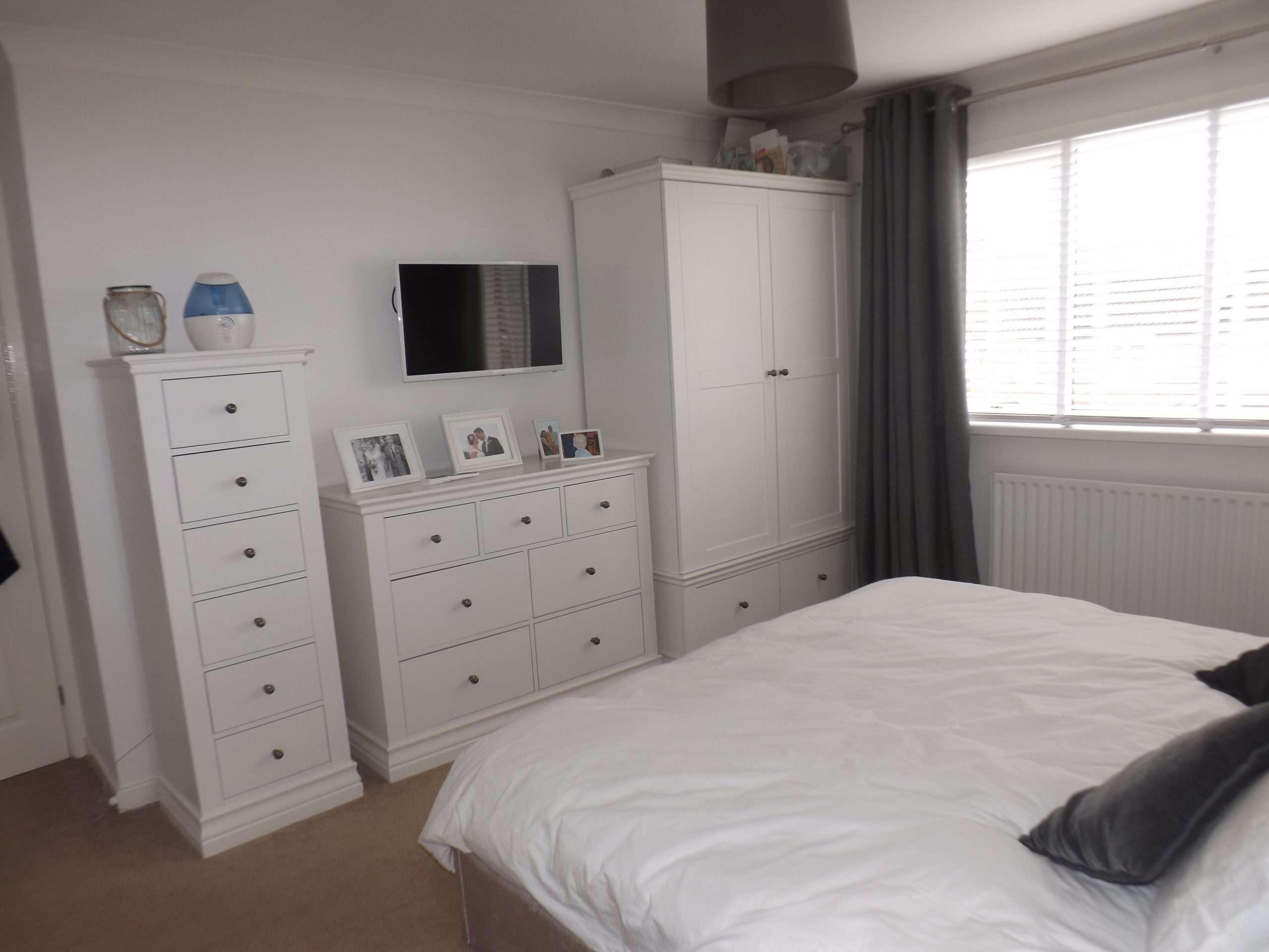 House bedroom in Friarside, Witton Gilbert